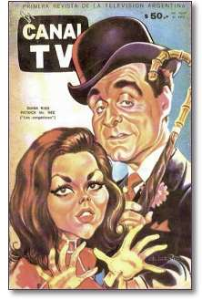 Canal TV magazine cover, N° 504, 5 March, 1968.