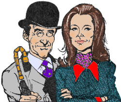 Steed y Emma, versión P�rez D'Elias (coloreado por Carlos)