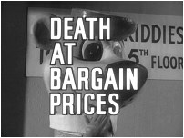 Death At Bargain Prices