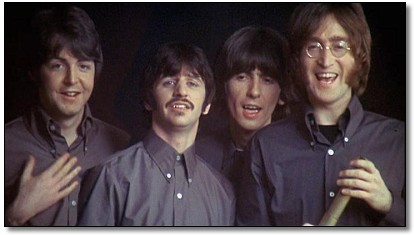 The Beatles 1968, aparición en vivo al final de la película Yellow Submarine